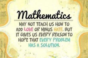 Mathematics Quote On Problem
