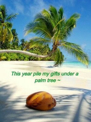 Island life, Christmas in the Caribbean- would like to have a island ...