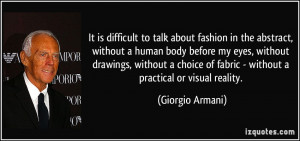 Difficult To Talk About Fashion In The Abstract, Without A Human Body ...