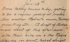 John French's World War I diary