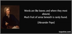 More Alexander Pope Quotes