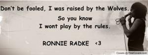 Ronnie Radke Profile Facebook Covers