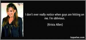 More Krista Allen Quotes