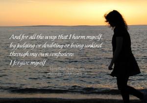 forgive myself – Buddhist Prayer of Forgiveness