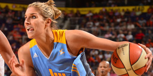 Elena Delle Donne named WNBA Rookie of the Month for the fourth time