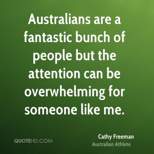 Cathy Freeman Quotes
