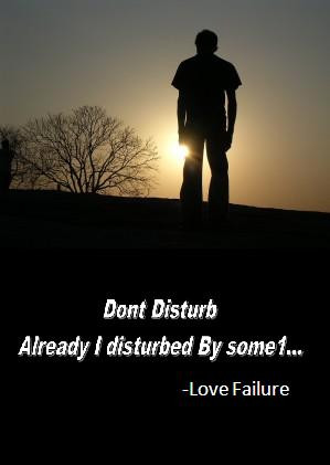 Love Failure Wallpapers with Quotes for boys
