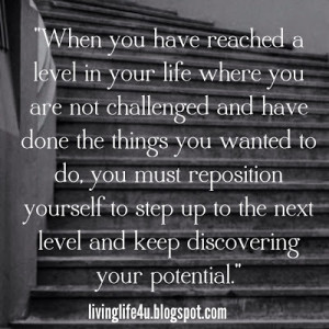 Repositioning Yourself To The Next Level