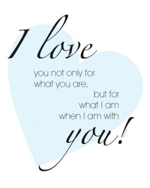 Newlywed Quote: Free Printable Love Quote – Roy Croft