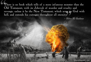 Helen H. Gardener: Jehovah, the Infamous Monster of the Old Testament