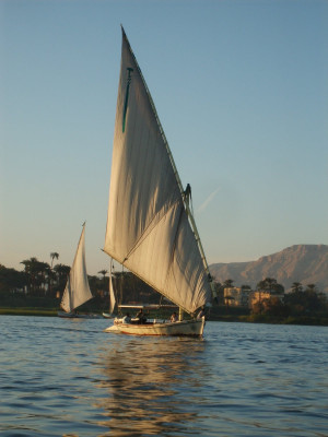 Sailing The Nile River