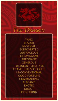 ... Chinese #Astrology #Dragon https://www.astroconnects.com/component