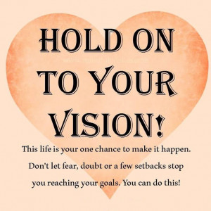 vision quotes and sayings quotesgram