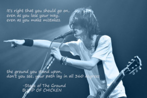 ... Time for some inspirational quotes from my favorite band…(^^) width