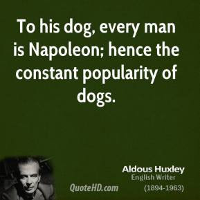 Man and His Dog Quotes