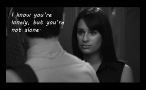 ... this image include: glee, rachel.love, quotes, rachel and subtitles