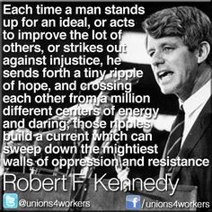 Truth be told... ~ Robert F. Kennedy More