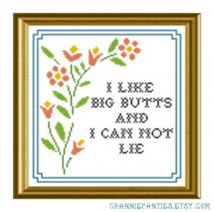 Sir Mix-a-lot - I like big butts - Grannie Panties original PDF ...