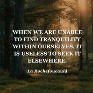 Where's your tranquility? Oprah.com