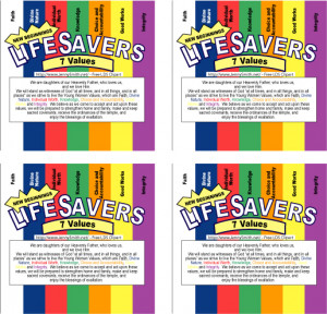 Life Savers Wrappers: New Beginnings