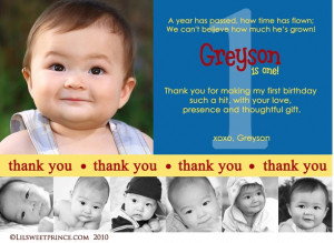 images of 1st birthday thank you cards first photo wallpaper