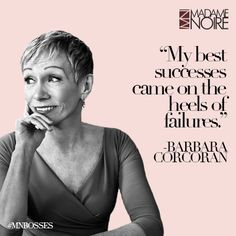 ... quote from Barbara Corcoran and more on our first annual selection of