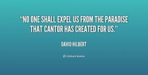 David Hilbert Quotes