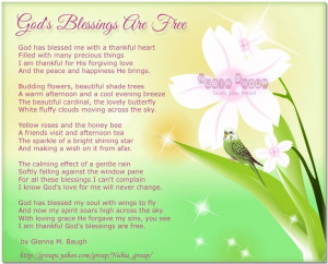 Gods Blessing Quotes   Good Morning BlessingsGod Blessed Quotes ...