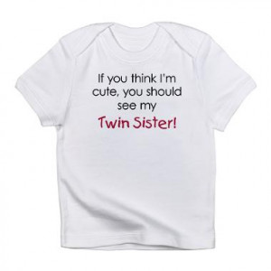 funny quotes about twin sisters