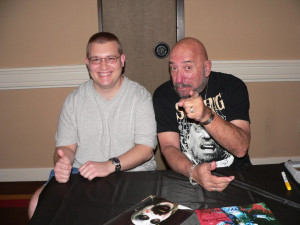 met Sid Haig at Cult Fiction Drive-In 2011.