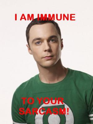 Sheldon Cooper Quotes Sarcasm