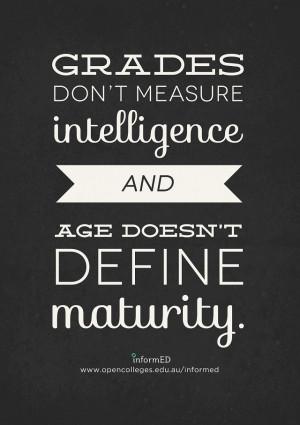 intelligence quote