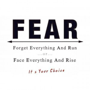 FEAR #Face #Reality