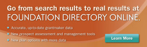 Subscribe Now to Foundation Directory Online