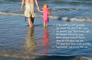 Grandpa And Granddaughter Quotes. .Grandpa Quotes From Granddaughter
