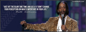 Katt Williams Quote Facebook Cover