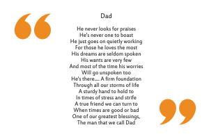 Dad poem