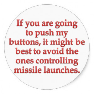 Aggravation: stop pushing my buttons sticker