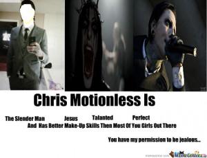chris motionless