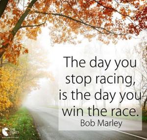 american hippie quotes stop racing bob marley