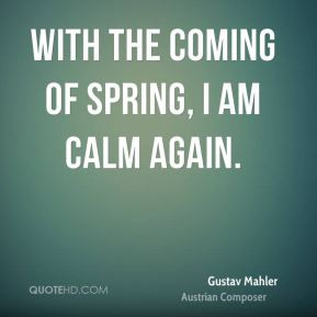 Quotes About Spring Coming