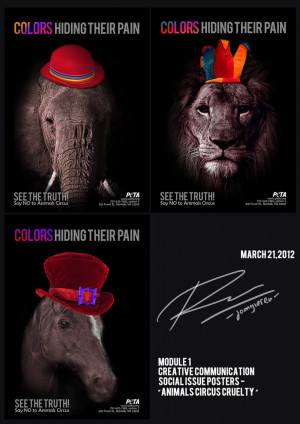 Animal Abuse Posters Social issue poster - animal