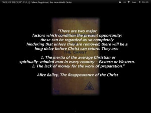 MJ 2012 Alice Bailey quote