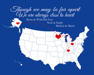 Distance Family Quotes Distance quote.