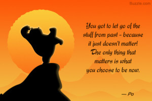 Kung Fu Panda 2 quote by Po