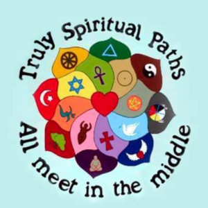 Spiritual paths all meet in the middle.