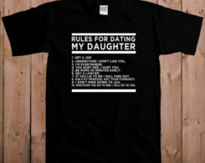 my daughter shirt gift for dad funny fathers day over protective dad ...