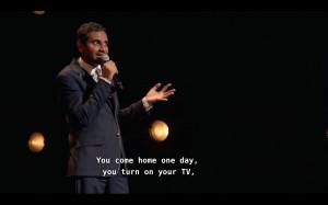 Aziz Ansari Tumblr Quotes Life done aziz ansari i quit