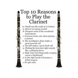 marching band quotes clarinet clarinet top 10 sticker