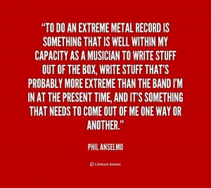 Metal Band Quotes